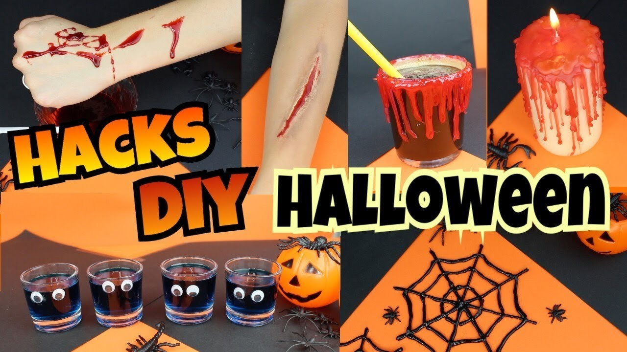 IDEAS | DIY | TRUCOS para HALLOWEEN | Sangre Falsa y más | NatyGloss