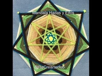 Mandala Hadas y Elfos