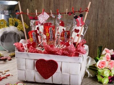 Manualidad Candy Bouquet para Despedida de Soltera