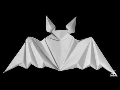 Origami Murcielago - Origami paper Bat