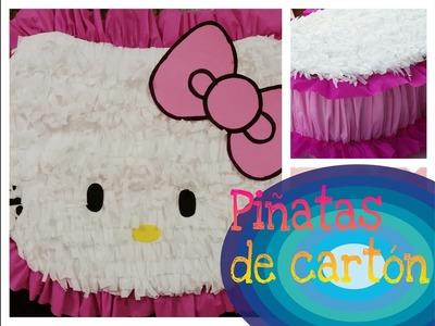 | PIÑATA HELLO KITTY | DE CARTÓN | PIÑATA DE CUMPLEAÑOS |