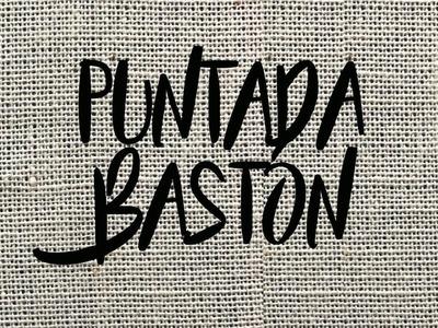 PUNTADA BASTÓN- TUTORIAL-PASO A PASO