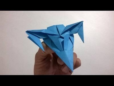 SUPER AVION JET DEL FUTURO DE PAPEL - origami paper airplane
