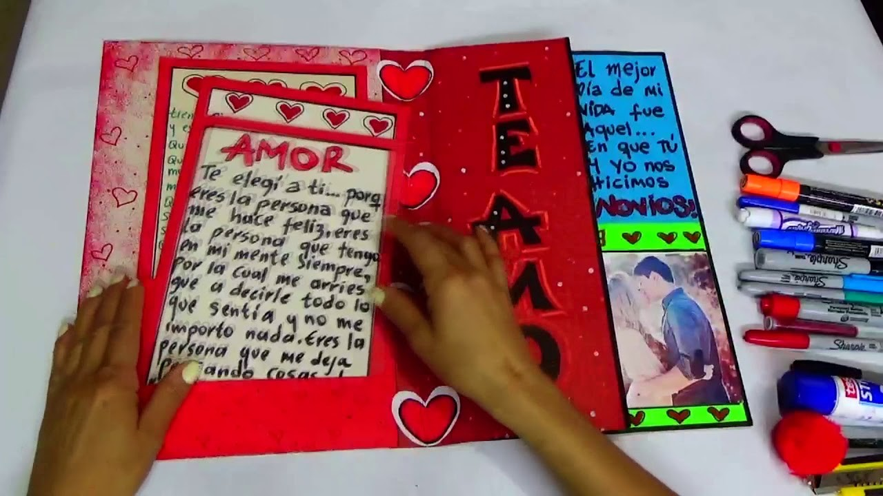 Tarjeta de Amor -Love Card- Creaciones betina