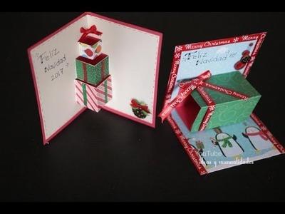 Tarjetas Para Navidad muy faciles de hacer y originales. ideas y manualidades