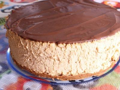 Tarta Mousse de Dulce de Leche SIN HORNO Postres Mil