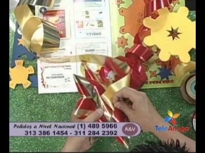 Teleamiga Aprenda y venda Moños navideños