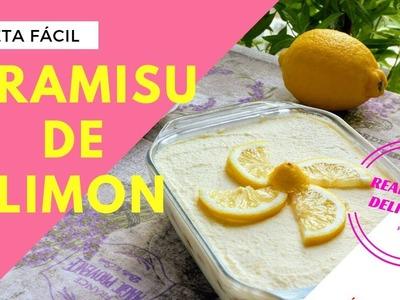 Tiramisú de Limón | Realmente Delicioso
