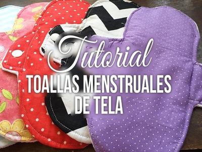 Tutorial: toallas menstruales de tela - Los290ss