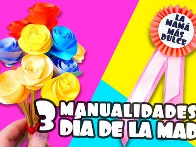 3 MANUALIDADES PARA REGALAR EL DÍA DE LA MADRE|Manualidades|DIY