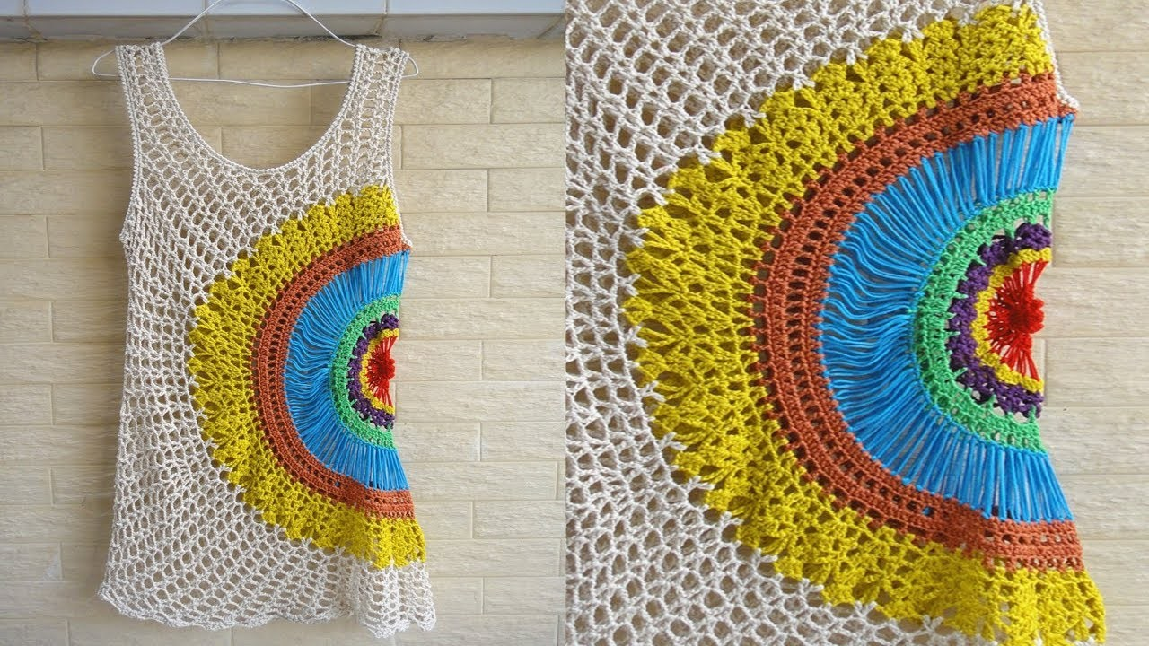 Blusa de Mujer a Crochet
