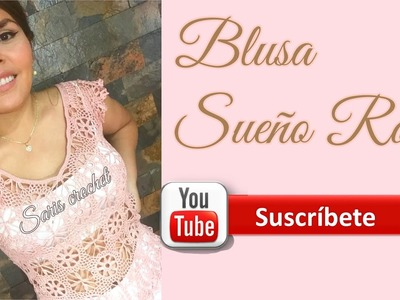 Blusa Sueño Rosa 5 última parte