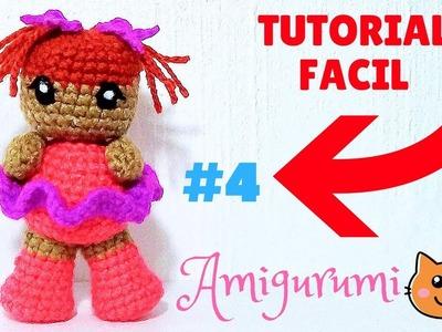 Brazos y Mini Moño Para muñeca AMigurumi