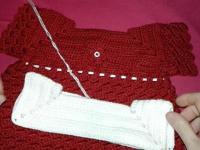 Champrita a crochet de 0 a 3 meses parte 1