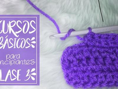 CLASE 3: Vareta Y Vareta Doble | Cursos Básicos A Crochet