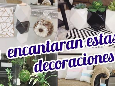 COMO HACER DECORACIONES ELEGANTES || DIY CANDELABRO, MACETAS Y KOKEDAMA