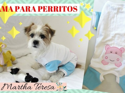 Como Hacer Pijama Para Perritos- Modelo bebe - DIY.