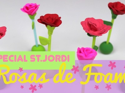¿Cómo hacer rosas de sant jordi? Tutorial de manualidades para el día del libro