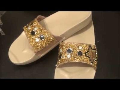 Cómo hacer Sandalias de moda  muy fácil. haga negocio