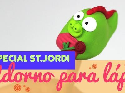 ¿Cómo hacer un dragon de sant jordi de manualidades? manualidades de sant jordi para niños