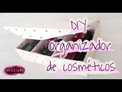 Crea tú organizador de cosméticos.multipropósitos- #DIY - #Howto organizer multipurpose