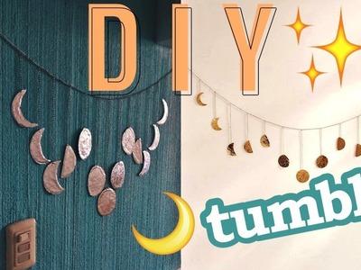 DECORA tu cuarto con guirnalda LUNAR   Tutorial DIY   LourdesOcc