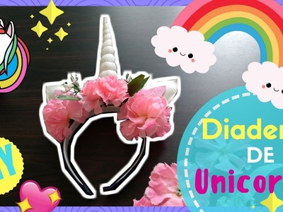 Diadema de unicornio DIY | tutorial