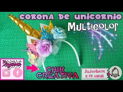 Diadema de Unicornio DIY - TIARA