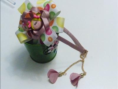 Diademas decoradas con flores y Moños faciles, MAnualidades la hormiga