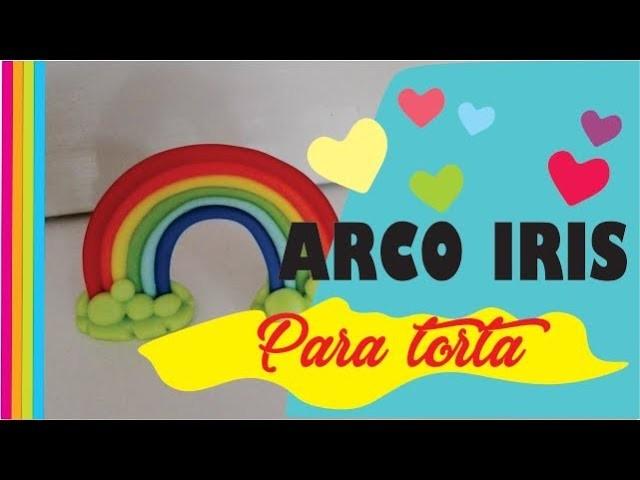 DIY - Arco iris de porcelana fría. Fácil !!
