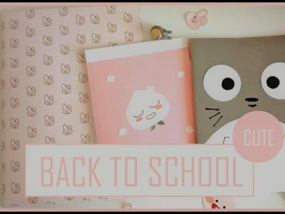 DIY:Back To School cute (Cooky BT21-Totoro- Apeach Kakao Talk)