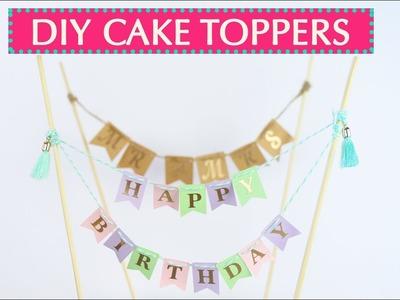 DIY Cake Topper - Adorno de Pastel SILHOUETTE CAMEO 3
