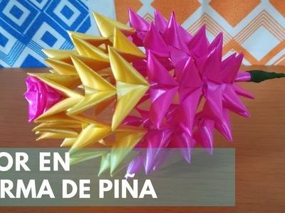 DIY - Flor de cinta de papel