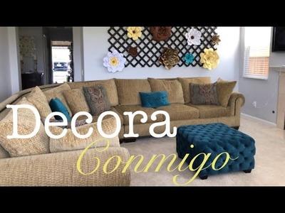 DIY idea para decorar tu sala elegante y hermosa