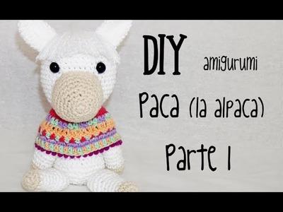 DIY Paca (la alpaca) Parte 1 amigurumi crochet.ganchillo (tutorial)