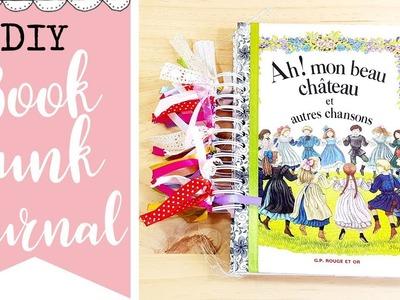 DIY - Recicla y hazte un Book Junk Journal fácil y original