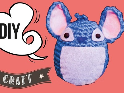 DIY Stich Amigurumi. Crochet Toy Tutorial