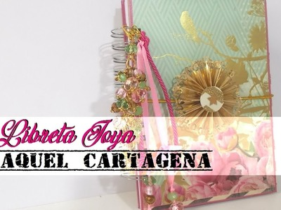 DIY TUTORIAL libreta joya