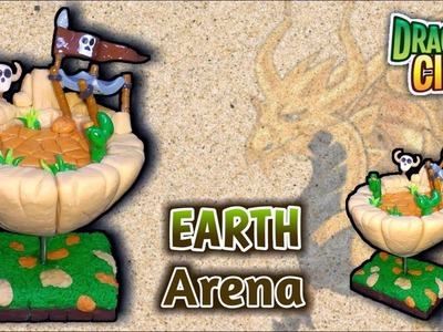 EARTH DIORAMA | DRAGON CITY | Polymer Clay Tutorial