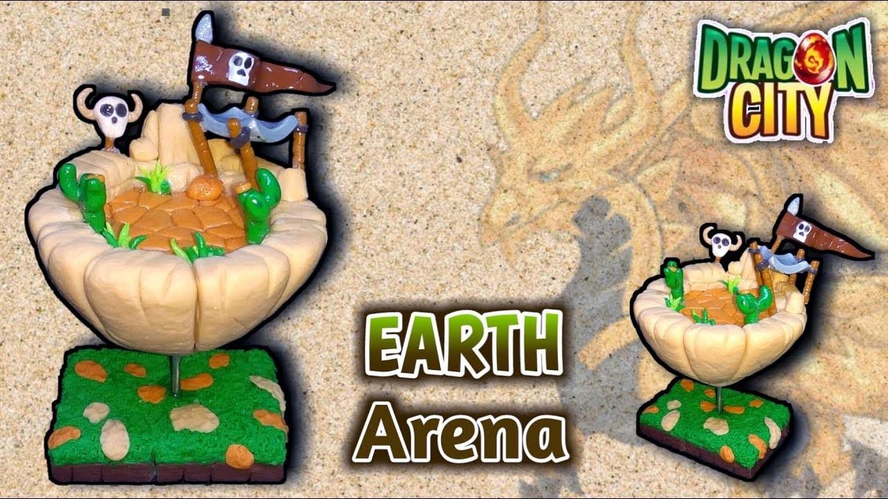 EARTH DIORAMA   DRAGON CITY   Polymer Clay Tutorial