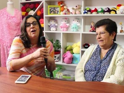 Esperanza y Ana Celia Rosas (Tejiendo Perú)
