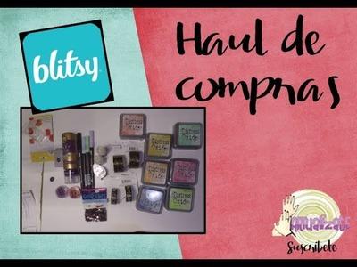Haul o unboxing de compras de manualidades | Blitsy