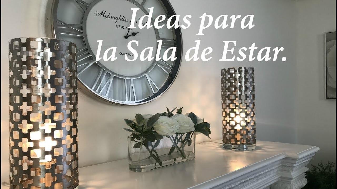 ideas decoracion sala IDEAS PARA DECORAR LA SALA DE ESTAR Y LA CHIMENEADIY