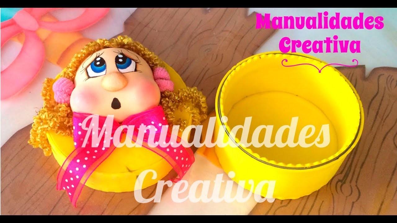 Joyerito Feliz Dia Mama paso a paso - Craft DIY manualidad en foamy.goma eva.microporoso