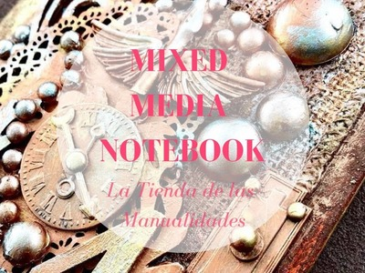 Libreta mix media - La Tienda de las Manualidades
