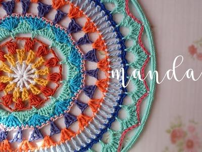 Mandala a crochet