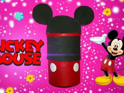 Manualidades- Un bote de Mickey Mouse | Elizabeth Coraline