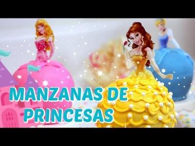 MANZANAS DE PRINCESAS DE DISNEY - BAKING DAY