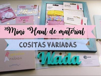 MINI HAUL DE MATERIAL ღ CREARTE Y TIENDAS VARIAS ღ MANUALIDADES