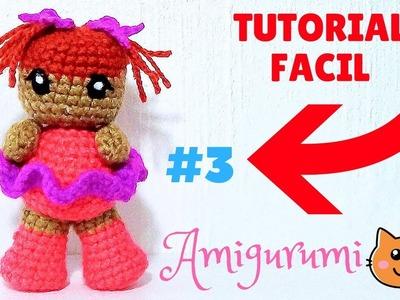 Piernas para muñeca Amigurumi Tejida a crochet